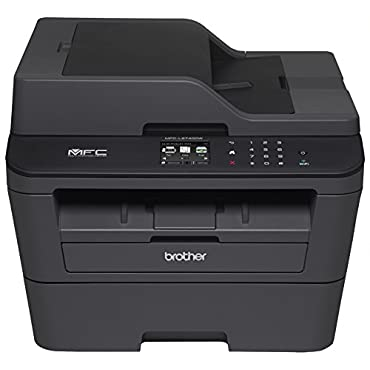 Brother MFC-L2740DW Wireless Monochrome Printer with Scanner, Copier and Fax, Amazon Dash Replenishment Enabled