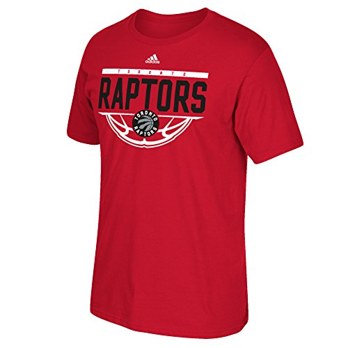 fan products of NBA Toronto Raptors Men's Balled Out Go-To Tee, Large, Red