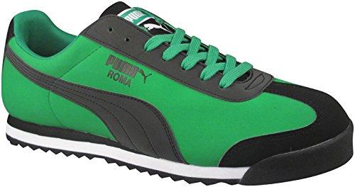 Puma Men's Roma Nbk Geo Fashion Sneakers Fern Green/Black 10 D(M) US