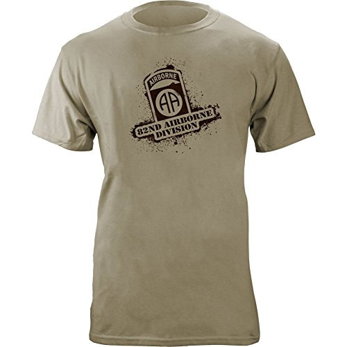 Airborne Division Stencil Style T Shirt