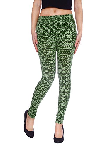 Simplicity Colored Chevron Texturized Leggings