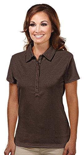 Tri-Mountain 103 Stamina Golf Shirt - BROWN - 2XL ()