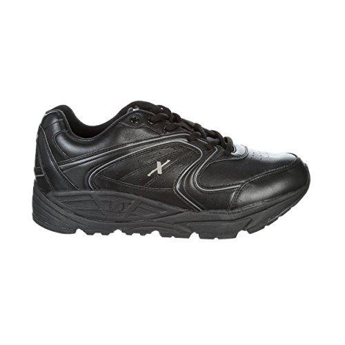 Xelero Matrix II Women's Comfort Therapeutic Extra Depth Sneaker Shoe: Black 7.5 Wide (D) Lace by Xelero