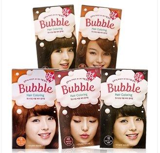 Etude-House-Hot-style-Bubble-Hair-Coloring-5-Sweet-Orange