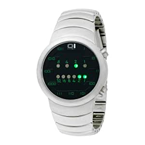 01 TheOne Unisex SM102G2 Samui Moon Binary Fashion Watch