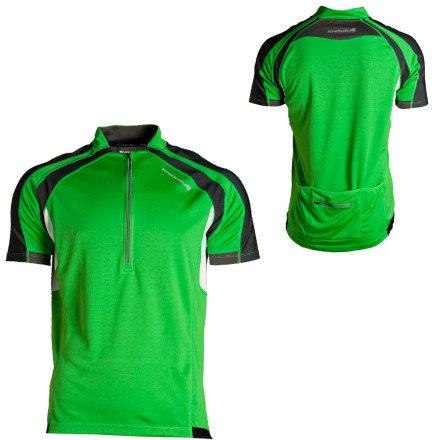 Endura Men's Hummvee Short Sleeve Shirt, Kelly Green (Size: XXL)