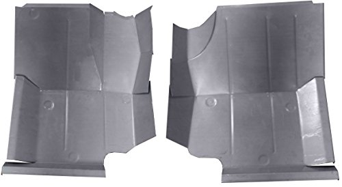 Classic 2 Current Fabrication 1976-96 Jeep CJ-7, CJ-8 & YJ Wrangler Front Floor Pans (Pair)