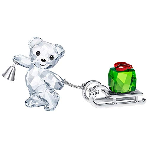Swarovski Crystal Kris Bear Christmas Annual Edition 2019 (Figurines Crystal Christmas)