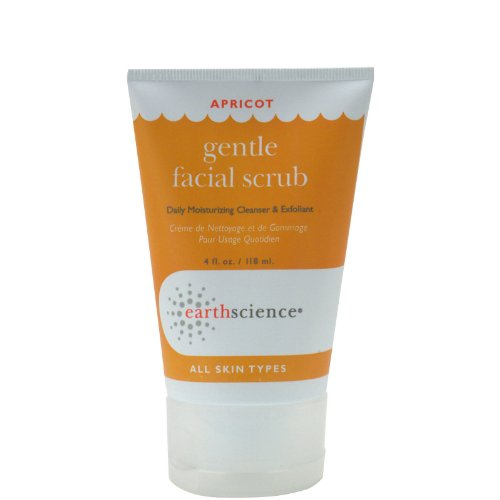 Earth Science Facial Scrub Apricot Gentle - 4 Fl Oz