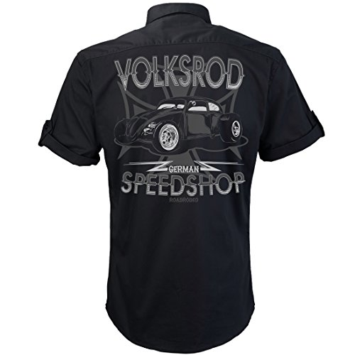 Worker Shirt, Hemd, Rock'n'Roll, V8, Hot Rod, Volksrod
