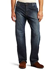 prAna Men's Axiom Jean, 34-Inch Inseam, Antique Stone Wash, 28