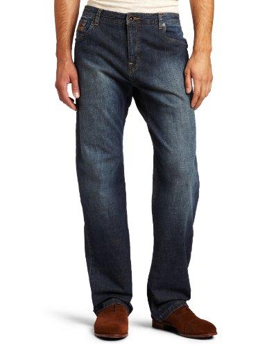 prAna Living Men's Axiom 34-Inch Inseam Jeans, Antique Stone Wash, 40