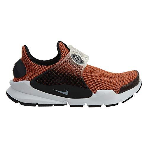 4bc6a9db387 NIKE Sock Dart SE Men s Running Shoes Terra Orange White-Black-White 911404