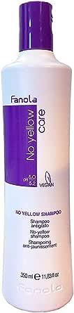 FANOLA No Yellow Shampoo For Unisex Shampoo, 350 ml