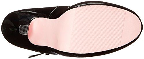 Ellie Chaussures Femme 423-babydoll Plate-forme Pompe Noir