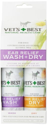 Bramton Company Vet`s Best Ear Wash And Dry 2 Pack