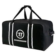 Warrior Dynasty AX2 Goalie Hockey Bag, Black/White, One Size