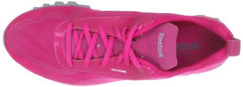 Reebok REALFLEX SCREAM - Zapatillas de tela mujer rosa - Rosa (CONDENSED PINK/FLAT)