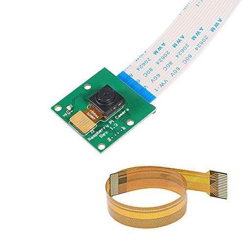 (Raspberry Pi Zero CSI Mini Camera Module 5MP 1080p Webcam Support OV5647 Sensor Video with Pi Zero Ribbon Cable & FPC Cable for Raspberry Pi Model A/B/B+,Pi 2 and Raspberry Pi 3, Pi Zero/Zero W)