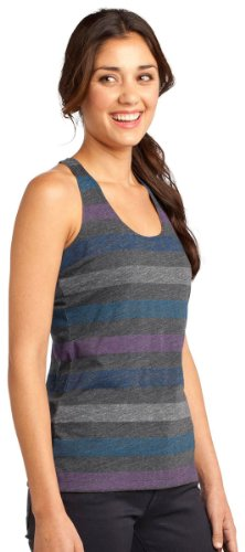 District - Camiseta de tirantes - para mujer Winter Stripe