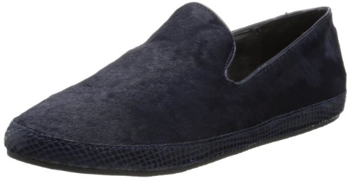 Steven By Steve Madden Cluch Flat Navy Pony Voor Dames