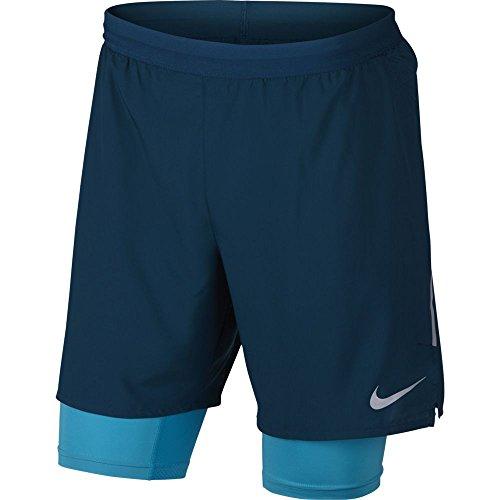 Nike, Pantalones Cortos Deportivos para Hombre Blu (Blu 474)