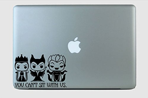 Funko Pop Disney Villian You Can't Sit With Us Vinyl Decal S