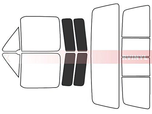 Rtint Window Tint Kit for Ford F-150 1980-1991 (2 Door) - Back Kit - 20%