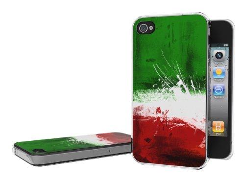 Master Case - Coque iPhone 4/4S Drapeau Grunge - Italie-2