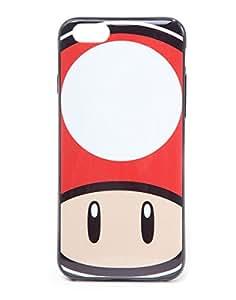 Super Mario Seta Funda para iPhone 6, color rojo