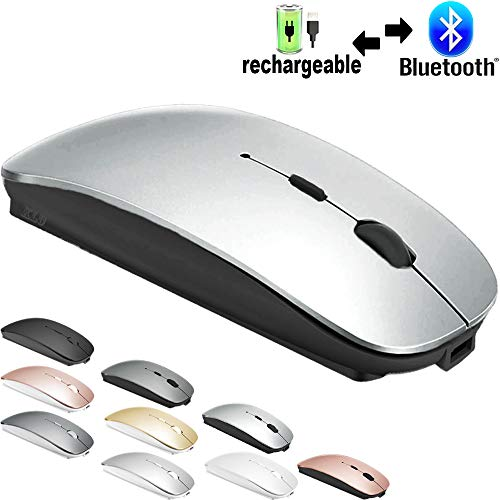 Rechargeable Bluetooth Mouse for...