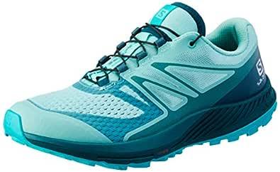 SALOMON Women's Sense Escape 2 Trail Running Shoe, Nile Blue/Hydro./Bluebird, 6.5 US