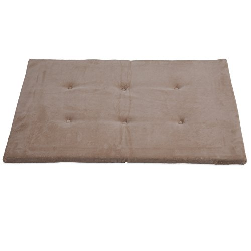 Precision Pet 4000 SnooZZy Mattress 34.75 in. x 21.5 in. Tan Baby (Snoozzy Pet Bed Plush)