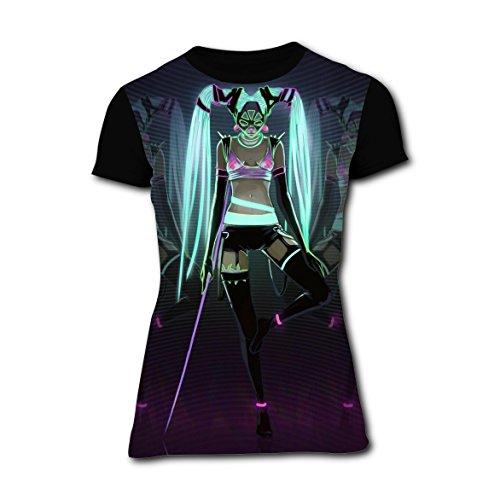 Harley Girl Quinn Comic Womens Casual T-shirt 3D Printed Tee Tops XXL