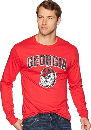 's Georgia Bulldogs Long Sleeve Jersey Tee Scarlet Large ()