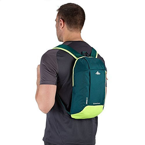 Quechua-Polyester-Hiking-Backpack-Dark-Green