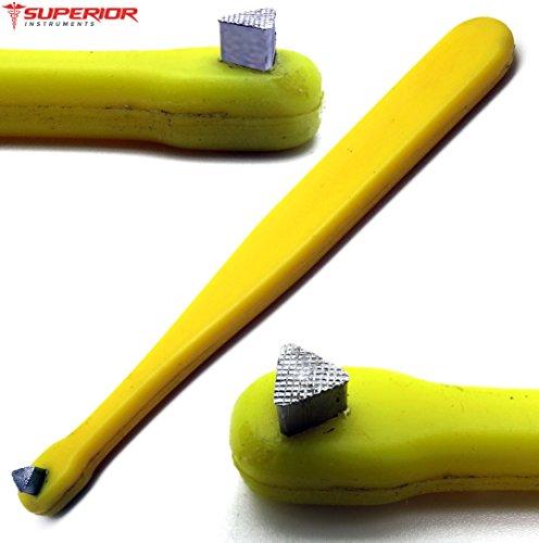 - Molar Band Seater Serrated Triangular Stainless Steel Tip Dental Orthodontics Instruments