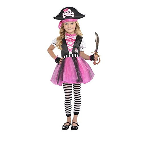 [Costumes USA Dazzling Pirate - Toddler 3T-4T] (Pirate Clothing And Accessories)