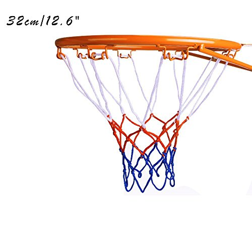 Kids Basketball Hoop, Dream Travel Basketball Rim Goal Wall Mounted Basketball Hoop Indoor Outdoor Hanging Basketball Hoop, 32cm