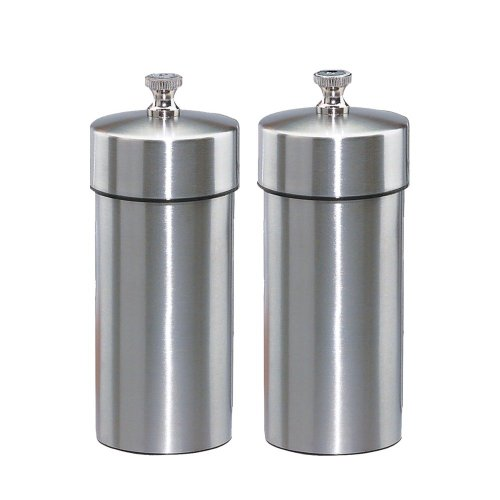 Chef Specialties 4 Inch Futura Pepper Mill and Salt Mill Set