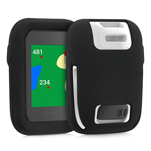 - kwmobile Case Compatible with Garmin Approach G30 - Silicone Protective Cover Skin - Golf GPS Navigator Accessories - Black