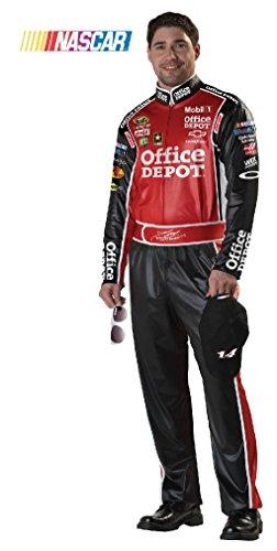 [Fancy Tony Stewart NASCAR Race Car Adult Costume] (Nascar Tony Stewart Costumes)