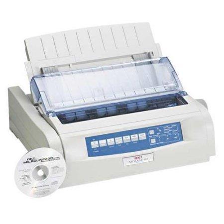 62418901 Dot Matrix Printer - OKIDATA 62418901-R - Microline 490 ~ Standard Carriage , Dot Matrix Impact Printer, 2