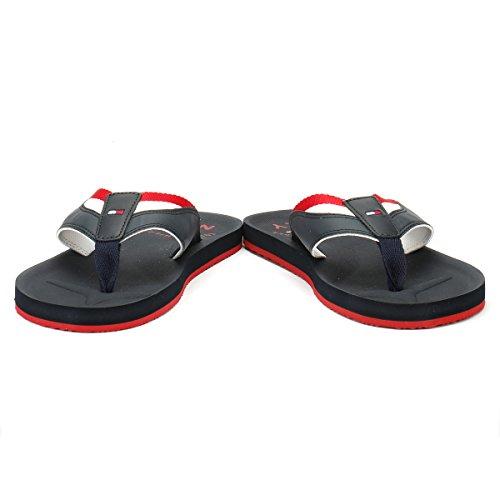 Tommy Hilfiger Mix Webbing Beach Sandal - Midnight (Navy) Mens Sandals Midnight AlVF4