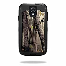 Mightyskins Protective Vinyl Skin Decal Cover for OtterBox Defender Samsung Galaxy S4 Case wrap sticker skins Tree Camo