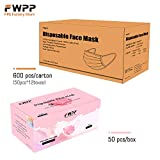 FWPP 4 Layer Thicker Earloop Disposable Face