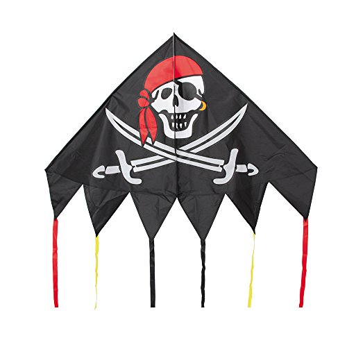 HQ Delta Kite (54-Inch Jolly Roger) by HQ Kites and Designs