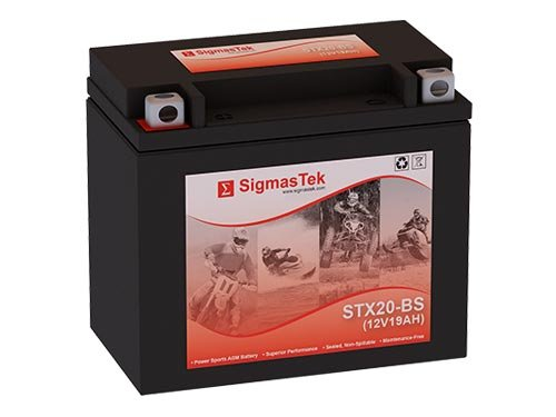 12 Volt 18 Amp Hour Sealed Lead Acid Battery Replacement with NB Terminals by SigmasTek STX20-BS
