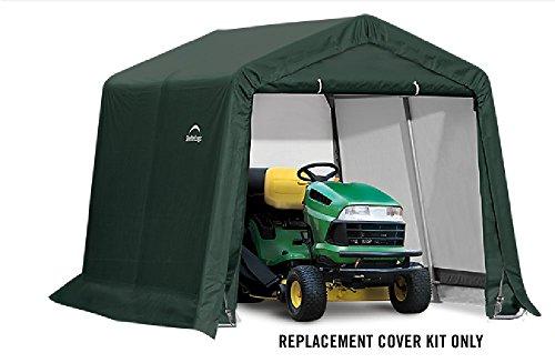 ShelterLogic Replacement Cover Kit 10x10x8 Peak 805150 (21.5oz PVC Green)