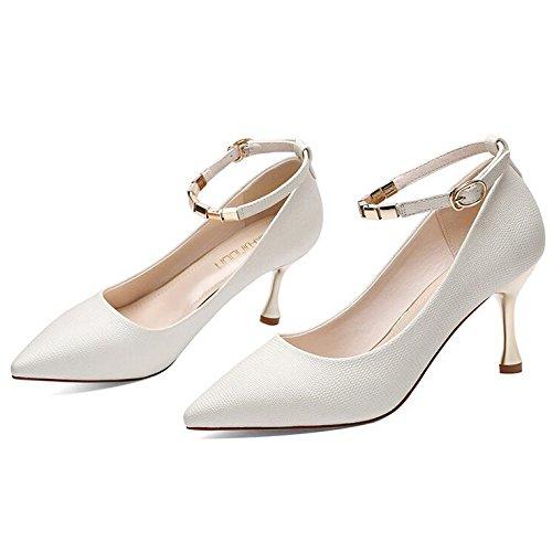 Femmes Femme Gray Chaussures 36 7 EU UK 4 Noir Chaussures Travail Mariage Talons De Sexy Mode 5cm Hauts Party Nightclub Cour Chaussures rn7qZxrP